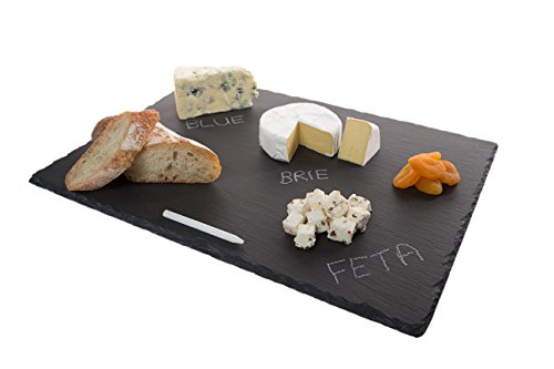 4 Sizes to Choose: Large Stone Age Slate cheese boards (12