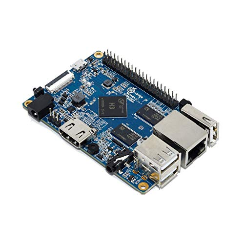 Orange Pi PC Single Board Computer with H3 Quad-core CPU and 1GB DDR3 SDRAM – Compatible with Ubuntu and Android Mini Operating Systems
