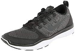 Nike Men's Free Train Versatility Running Shoes, Black (Black / Black-White), 45 EU