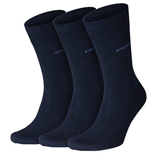 Joop! Herren Socken 'Fine Cotton Men' 3er - Hochwertige Businessocken aus Baumwolle, Drei Paar - Navy - Größe EU 39-42 (001_H-3000-3942)