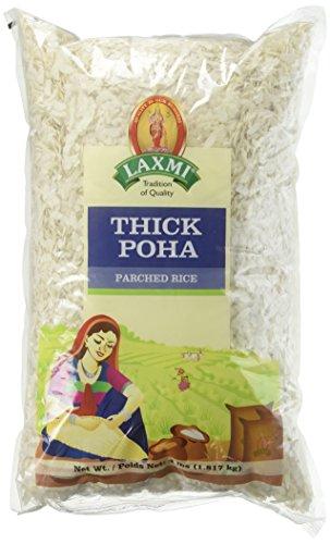 Laxmi Ready-To-Eat Flattened Thick Poha - 4lbs