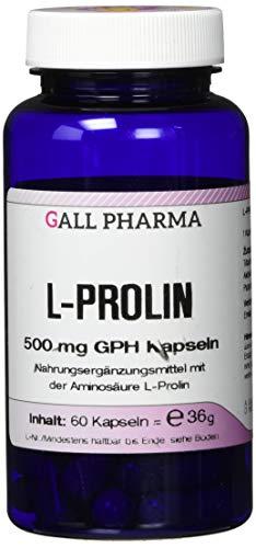 Gall Pharma L-Prolin 500 mg GPH Kapseln, 60 Kapseln