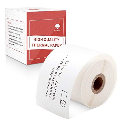 Phomemo Quadratisches, selbstklebendes Mehrzwecketikett für M110-Etikettendrucker, 40 x 60 mm (1,57