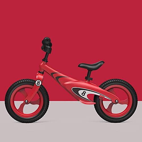 HEWEI Bicicleta de Equilibrio para niños de aleación de magnesio Bicicleta sin Pedales de 16 Pulgadas andadores para niños de 2 a 8 años