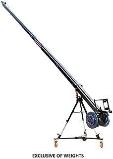 PROAIM 22ft Octagonal Camera Crane Arm with 150mm Bowl Jib Stand for Pan Tilt Head Movie Video Film Shoot Documentary (KITE-22-STARTER)