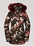 Volcom Ryn Parka, Mujer, Faded Army, L