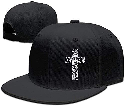 ingshihuainingxianruangangs Lion Cross ReligioChristian Rasta Funny Baseball Gorras Cool Snapbacks