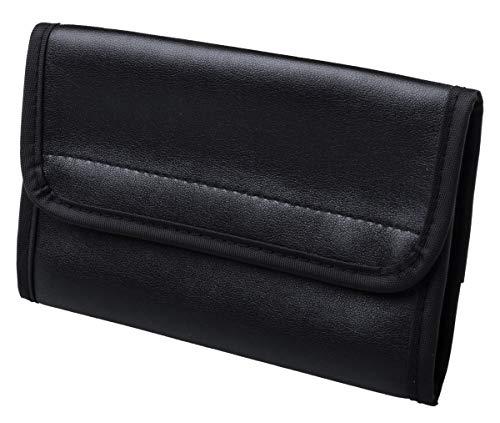 Sharp - Funda protectora para diccionarios electrónicos de la serie PW-E (piel sintética), color negro