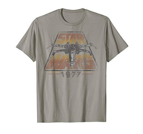 Star Wars X-Wing 1977 Vintage Retro Graphic T-Shirt