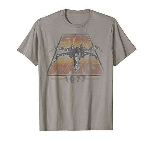 Star Wars X-Wing 1977 Vintage Retro Graphic T-Shirt