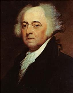 Home Comforts John Adams Second President Founding Father USA Vivid Imagery Laminated Poster Print 24 x 36