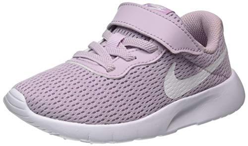 Nike Unisex-Child Tanjun (PSV) Sneaker, Ice Lilac/White, 33 EU