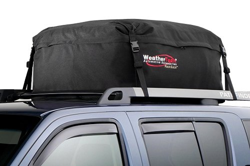 WEIPA Car Roof Bag & Rooftop Cargo Carrier – 15 Cubic Feet Heavy Duty Bag, 100% Waterproof Excellent Military Quality Roof-Top Car Bag - Fits All Cars (60 RE)