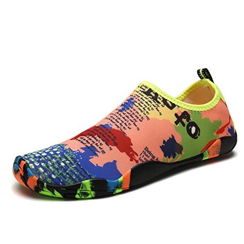 DoGeek Zapato de Agua Zapatos de Playa Escarpines Calzado de