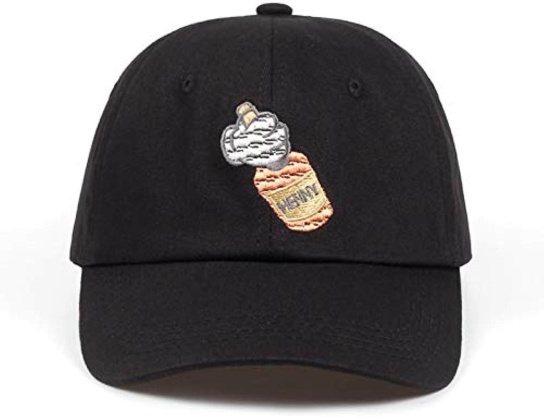 AAMOUSE Baseball Cap Dad Cotton Hat Baseball Cap Embroidery for Men Women Bottle Cosmonaut Snapback Cap Cotton Hip Hop Bone