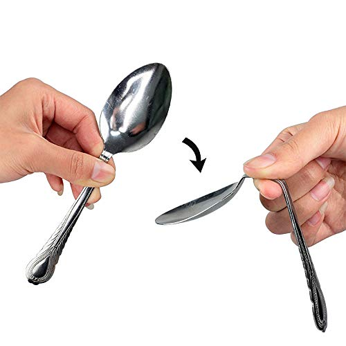 Enjoyer Bend Spoon Bending Magic Tricks Street Close Up Magic Gimmicks Magic Props Magicians Accessories