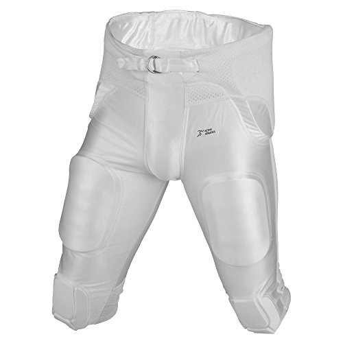 Active Athletics American Football Hose 7 Pad All in One Gamepants - weiß Gr. M