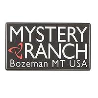 MYSTERY RANCH(ミステリー ランチ) ヘリテージロゴステッカー BLACK