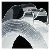 PU-GEL-TAPA adhesiva antideslizante de doble cara-nano rastreless fuerte reutilizable Hogar 1/3 / 5M Pegamento flexible Muebles de gadget Cinta de reparación de la casa ( Color : 3M , Tamaño : 1mm )