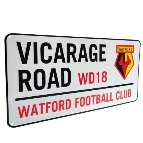 Watford F.C. Street Sign Official Merchandise