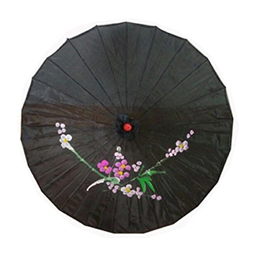 22 inch Lavender JapanBargain 2198 Japanese Parasol Chinese Asian Nylon Umbrella Parasol for Photography Cosplay Costumes Wedding Party Home Decoration Kids Size