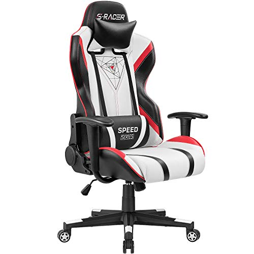 Homall Gaming Chair Racing Office High Back PU Leather Chair Computer Desk Chair...