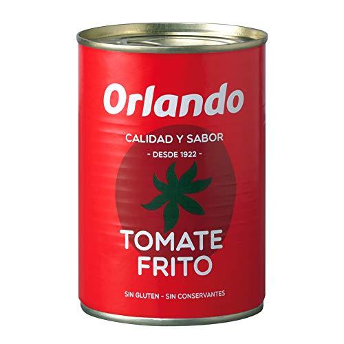 Orlando - Tomate frito clsico, 400 g - [Pack de 6]