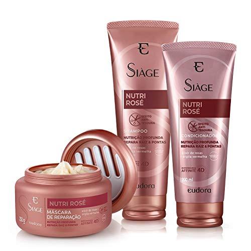 Kit Siàge Nutri Rosé Shampoo + Condicionador + Máscara