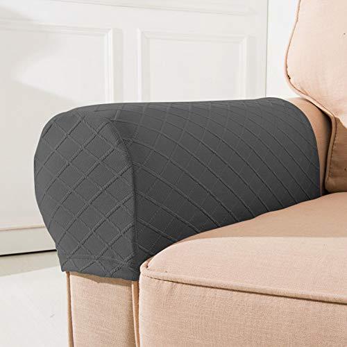 Happymore 1 paio di coprigambe estensibili per divano e divano a casa, copribraccioli, copribraccioli per braccio quadrato
