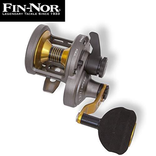 Fin-Nor Primal LH PR10HS - Multirolle zum Meeresangeln auf Dorsche & Heilbutts, Meeresrolle, Pilkrolle, Dorschrolle, Angelrolle
