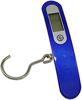 JPVGIA Baggage Scale High-Precision Luggage Scale Handheld Small Portable Electronic Scale Maximum Weight 50KG for Family, Travel, Shopping (Color : A)