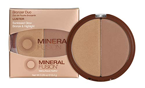 Mineral Fusion Bronzer Duo, Luster, 0.29 oz (Packaging May Vary)