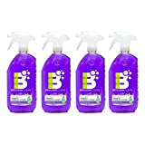 Boulder Clean Natural Granite & Stainless Steel Cleaner, Lavender Vanilla, 28 oz (Pack of 4)
