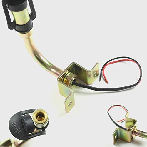 Halter Rundumleuchte drehbar 90° mit Kabel Leuchte 12V seitliche Montage