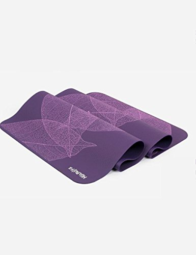 GXY antislipmatten, 185 cm, dubbele yogamatten, verdikt, 8 mm breed, 80 cm, yogamatten