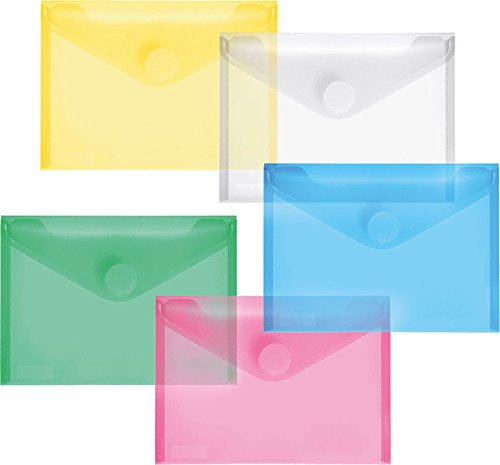 FolderSys PP-Umschlag 10er Set (A6, Mehrfarbig, 20 Umschläge)
