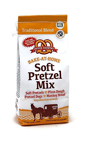 Soft Pretzel Mix 2 Bags: Dutch Country Soft Pretzels