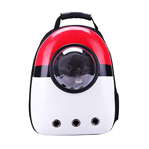 YTK Cat Backpack Space Capsule Bubble Bag,Small Cat Backpack,Suitable for Small Dogs,Space Capsule Pet Carrier Dog Trekking Backpack Airline Approved Travel Carrier