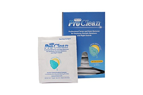 Premier PR-9011103 Pro Clean Tartar and Stain Remover (Pack of 25)