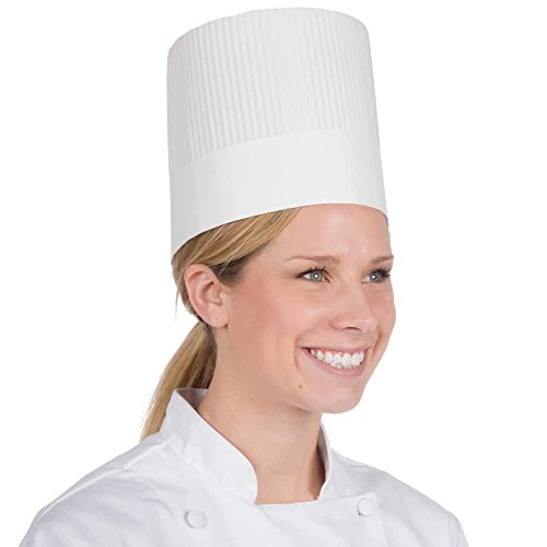 Royal SCH7 7' White Stirling Chef Hat (Case of 15)