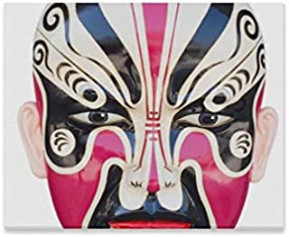 JTMOVING Wall Art Painting Traditional Chinese Opera Mask Isolated On Prints On Canvas The Picture Landscape Pictures Oil for Home Modern Decoration Print Decor for Living Room