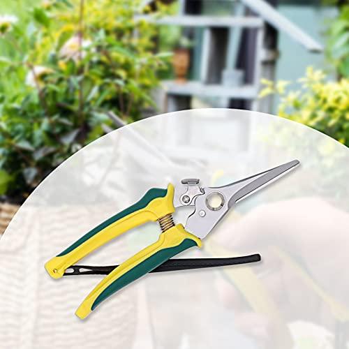YADIMI Podadoras Manuales Profesionales Podadoras de Derivación Tijeras de Flores Podar para Trabajo de Jardinería con Acero Inoxidable para Podar Hojas Ramas