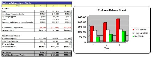 Pool Table Store Business Plan - MS Word/Excel
