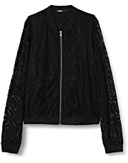 Only Onlmina L/S Lace Bomber Wvn Giacca Donna