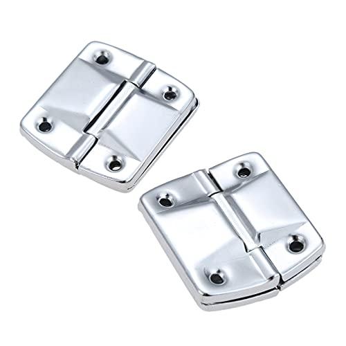 Wsnld 2 Pz Valigia Cassetta degli Attrezzi Supporto in Metallo Cerniere Porta Finestra Armadio Portabagagli Supporto Posizionamento Cerniera Ferramenta per mobili