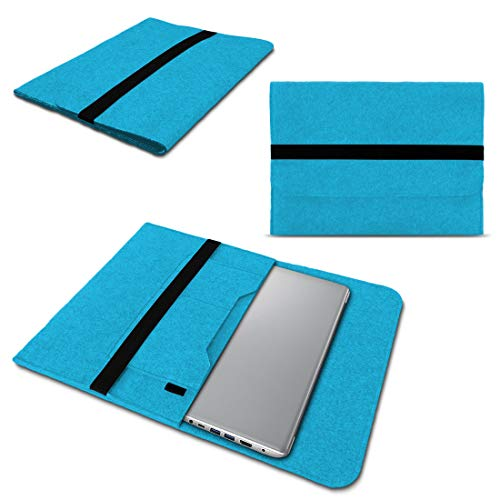 NAUC Lenovo Thinkpad Yoga 370 Tasche Hülle Filz Sleeve Hülle Schutzhülle Notebook Cover, Farben:Türkis