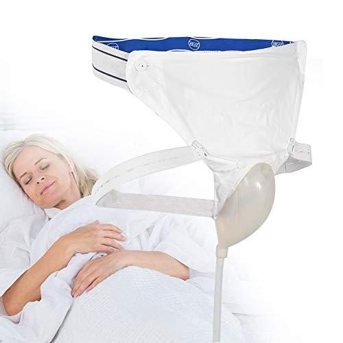 Urinsammler aus Silikon mit 2 Urin-Kathoterbeuteln, 3 optionale Typen für Männer, ältere Frauen