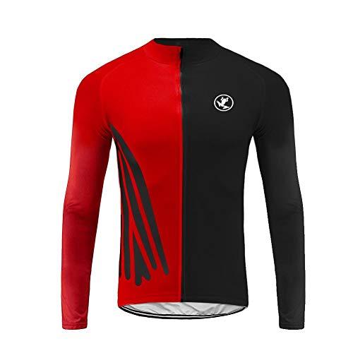 Uglyfrog Magliette Jersey Uomo MTB Manica Lunga Camicia Top Abbigliamento Ciclismo Autunno Style CXMX08