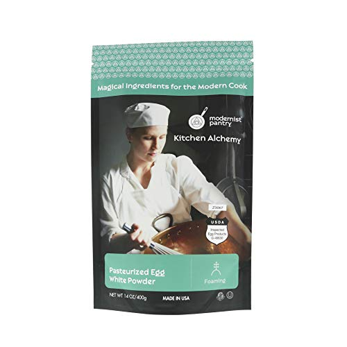 AAA Grade Egg White [Albumen] Powder ❤ Gluten-Free ✡ OU Kosher Certified (Pasteurized, Made in USA, 1 Ingredient no additives, Produced from the Freshest of Eggs) - 400g/14oz