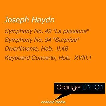 Orange Edition - Haydn: Symphonies Nos. 49, 94 & Keyboard Concerto, Hob.  XVIII:1